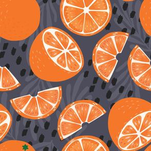 Fruit Orange Pattern 022