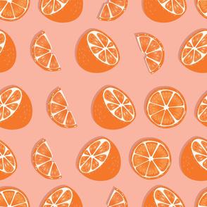 Fruit Orange Pattern 023