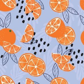 Fruit Orange Pattern 024