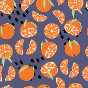 Fruit Orange Pattern 025