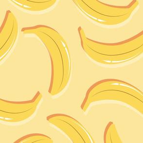Fruit Banana Pattern 030