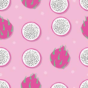 Fruit Dragon Fruit Pattern 031