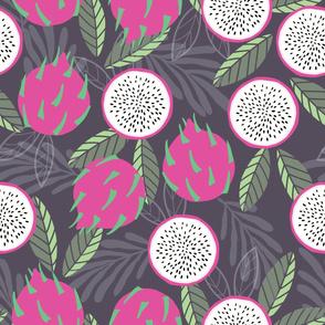 Fruit Dragon Fruit Pattern 033