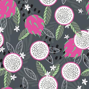 Fruit Dragon Fruit Pattern 034