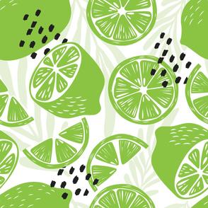 Fruit Lime Pattern 038