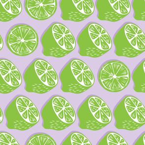 Fruit Lime Pattern 041