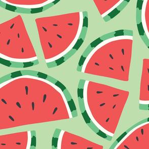 Fruit Watermelon Pattern 044