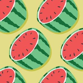 Fruit Watermelon Pattern 045