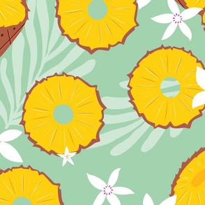 Fruit Pineapple Pattern 046