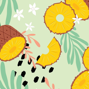 Fruit Pineapple Pattern 047