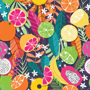 Fruit Tropical Pattern 050