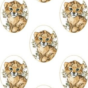 """4"""" Raja the Cheetah Cub"""