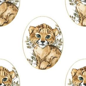 """8"""" Raja the Cheetah Cub"""