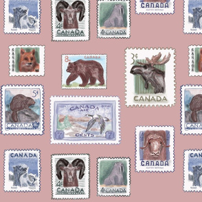 Illustrated Wildlife Stamps of Canada