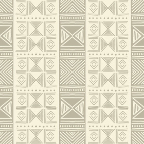 Ethnic Neutral Mudcloth