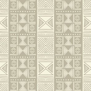 Ethnic Grey Mudcloth