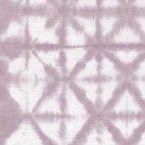 Soft tie dye boho texture summer shibori traditional Japanese neutral cotton print mauve purple