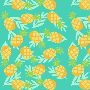 Mint pineapples