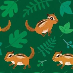 Forest Floor Friends (green)
