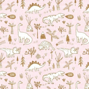 Happy Jurassic (pink) SML
