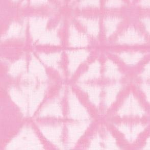 Soft tie dye boho texture summer shibori traditional Japanese neutral cotton print pink girls