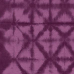 Soft tie dye boho texture summer shibori traditional Japanese neutral cotton casis purple pink girls