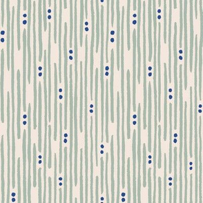 Granola stripe_small-almond-green-blue