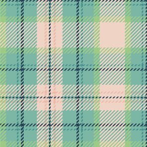 Green and Pink Plaid