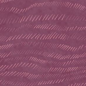 Eggplant purple textured waves