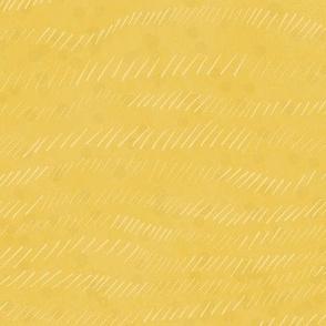 Golden yellow textured waves