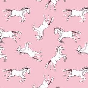 Ponies on Pink