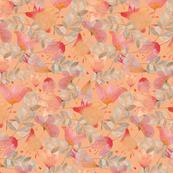 Dancing Flowers peach