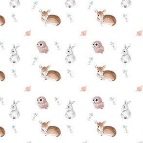 Whimsical Woodland Animals