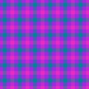 "double mad gingham, 1/4"" check"