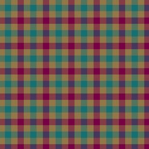 double bold moroccan gingham