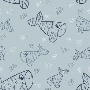 Lace Whale