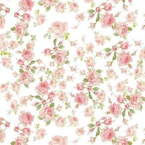 Saint Colette June Roses peony dollhouse mini