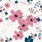 Pink Spring Flowers 5400