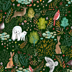 wildlife animals nature forest // medium scale