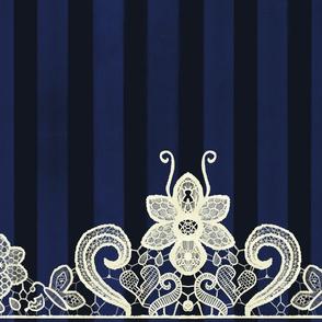 Butterfly Lace | Royal Indigo