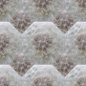 Dandelion Heart - Octahedron - Mosaik Nature Herb Pattern