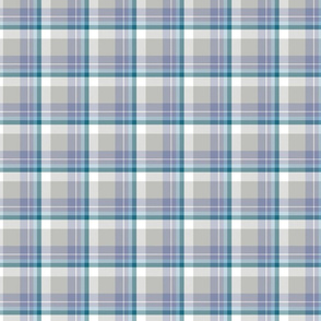 Coordinate tartan, for Grizzly Bear
