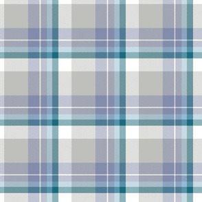 Coordinate tartan for Grizzly Bear