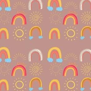 Sunshine and Muted Rainbows