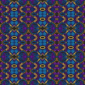 Clara Stripe, Boho Folk Art, medium