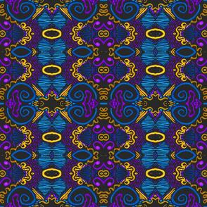 Clara Stripe, Boho Folk Art, large