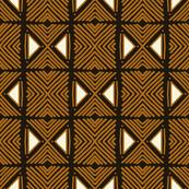Tribal Dark Brown Motif