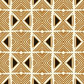 Tribal Light Brown Motif