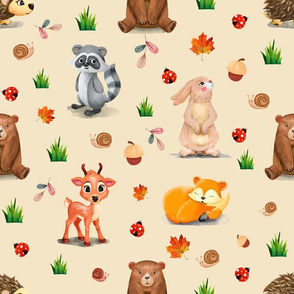 Happy Forest Animals