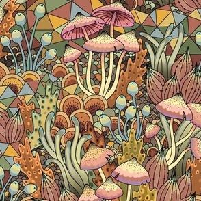 Mushrooms natural